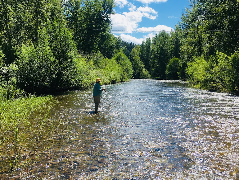 Angling on the Little Blackfoot River